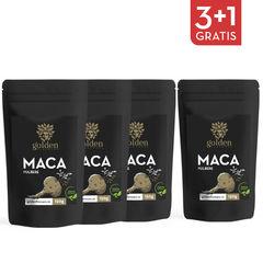 3+1 Gratis Maca pulbere 100% naturală, 150g | Golden Flavours