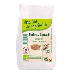 Făină de Hrișcă Fără Gluten, 500g | Ma vie sans gluten