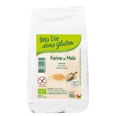 Făină de Porumb Fără Gluten, 500g | Ma vie sans gluten