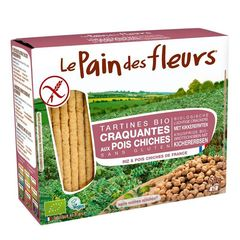 Turte Crocante cu Năut Fără Gluten, 150g | Le Pain des Fleurs