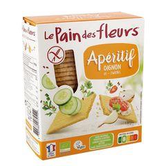 Turte Crocante cu Ceapă Fără Gluten, 150g | Le Pain des Fleurs