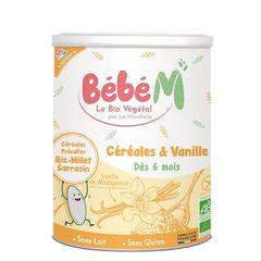 Cereale cu Vanilie Pentru Bebeluși - de la 6 luni, 400g | La Mandorle