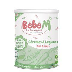 Cereale + Legume Pentru Bebeluși - de la 6 luni, 400g | La Mandorle