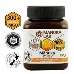 Miere de Manuka, MGO 300+ Noua Zeelandă Naturală, 250g | MANUKA LAB