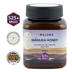 Miere de Manuka, MGO 525+ Noua Zeelandă Naturală, 250 g | MELORA