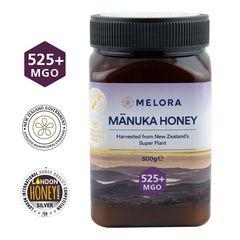 Miere de Manuka, MGO 525+ Noua Zeelandă Naturală, 500 g | MELORA