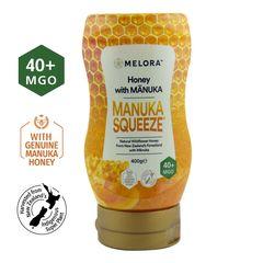 Miere din Flora Sălbatică a Noii Zeelande cu Miere de Manuka MGO 40+ Naturală, 400g | MELORA