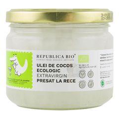 Ulei de Cocos Extravirgin - Presat la Rece Bio, 280ml | Republica BIO