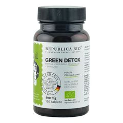 Green Detox Ecologic, 120 tablete | Republica BIO