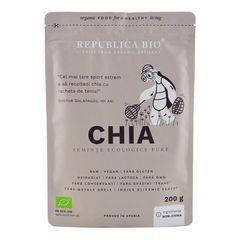 Chia, Semințe Ecologice Pure, 200g | Republica BIO
