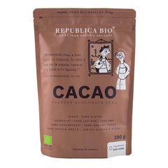 Cacao, Pulbere Ecologică Pură, 200g | Republica BIO
