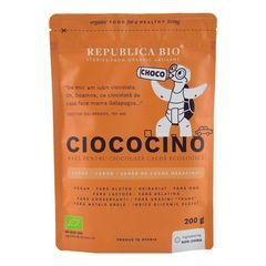 Ciococino Bază Pentru Ciocolată Caldă Ecologică, 200g | Republica BIO