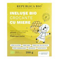 Inelușe Bio Crocante cu Miere Fără Gluten, 250g | Republica BIO