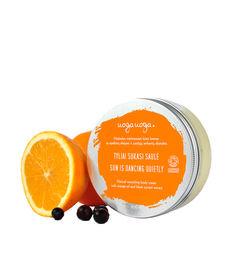 Sun is Dancing Quietly: Crema de corp nutritiva bio, vegana cu ulei de portocale si extract de coacaz negru | Uoga Uoga
