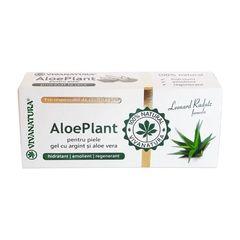 Aloe Plant – Gel cu Argint si Aloe Vera, 20ml | Vivanatura
