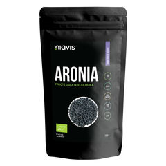 Aronia Fructe uscate raw ecologice 125g | Niavis