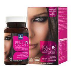 Beautin™ Collagen cu Acid Hialuronic şi Biotină 30 cps | Myelements