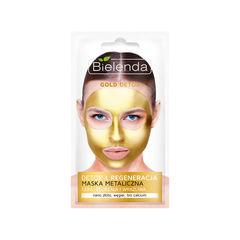 GOLD DETOX Mască Metalică Detoxifiantă pentru Ten Matur şi Sensibil 8g | Bielenda