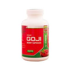 Capsule din fructe de Goji liofilizate, Bio, Vegan, 90 capsule, 500 mg/capsula | Gojiland