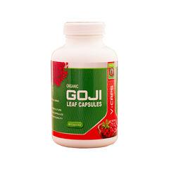 Capsule din frunze de Goji liofilizate, Bio, Vegan, 90 capsule, 500 mg/capsula | Gojiland