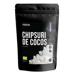 Chipsuri de Cocos Raw Ecologice 125g | Niavis