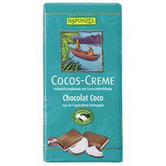 Ciocolată cu Cremă de Cocos, 100g | Rapunzel