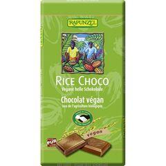 Ciocolată Vegană cu Lapte de Orez, 100g | Rapunzel