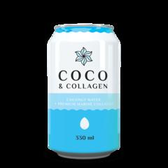 Coco Colagen - Apă de Cocos Naturală cu Colagen, 330ml | Diet-Food