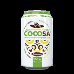 Cocosa Ananas - Apă de Cocos Naturală cu Ananas, 330ml | Diet-Food