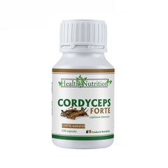 Cordyceps Extract Forte, 100% Natural, 120 capsule | Health Nutrition