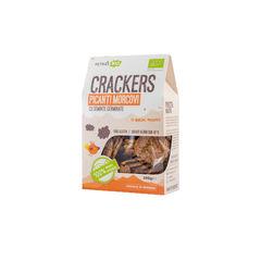 Crackers eco picanți morcovi cu semințe germinate 100g | Petras Bio