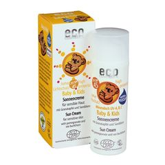 Cremă Bio Protecție Solară Minerală Bebe și Copii FPS45, 50ml | Eco Cosmetics