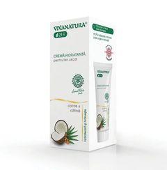 Cremă de Față Hidratantă Pentru Ten Uscat cu Cocos și Cătină, 75ml | Vivanatura