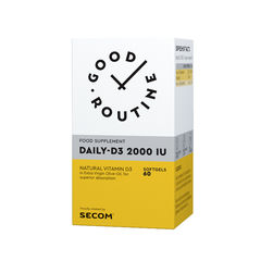 Daily-D3 2000IU Good Routine, 60 capsule | Secom