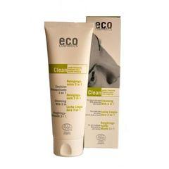 Demachiant Bio 3în1 cu Ceai Verde - Pentru Toate Tipurile de Ten, 125ml | Eco Cosmetics