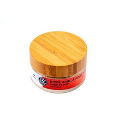 Spumă de Corp Ricin, Argilă Roșie și Roiniță, 100ml | Elixir H