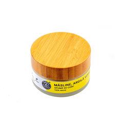 Spumă de Corp Măsline, Argilă Verde și Extract Cafea, 100ml | Elixir H