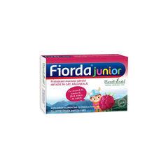 FIORDA Junior - Comprimate cu Aromă de Zmeură, 15 cmp | Plantextrakt