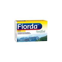 FIORDA - Comprimate cu Aromă de Lămâie, 30 cmp | Plantextrakt