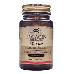 Folacin (Acid folic) 800mcg, 100 tablete | Solgar