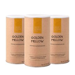 Pachet Cură Completă GOLDEN MELLOW Organic Superfood Mix, 3x 200g | Your Super