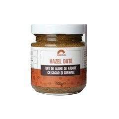 Unt de alune de pădure cu cacao și curmale Hazel Date, 100% natural | Sunday bites
