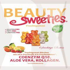 Jeleuri gumate cu aromă de fructe, ursuleți, 125g | Beauty Sweeties