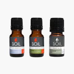 Kit Uleiuri esențiale Digestie Ușoară | SOiL