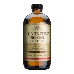 L-CARNITINE (Aminoacid L-carnitina) 1500mg lichid, 473ml | Solgar