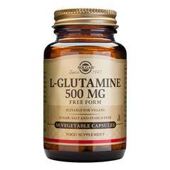 L-GLUTAMINE (Aminoacid L-glutamina) 500mg, 50 capsule | Solgar
