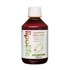 IMMU-POW Vitamina C și D3 lipozomală, 250ml | Lipolife