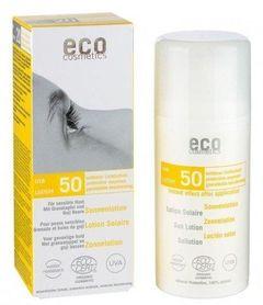 Loțiune Fluidă de Protecție Solară FPS50 cu Goji și Rodie, 100ml | Eco Cosmetics