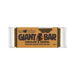 Baton din Ovăz cu Ciocolată belgiană şi Caramel 100g | Ma Baker