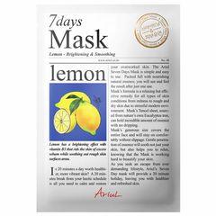 Mască Șervețel 7Days Mask Lămâie, Strălucire și Relaxare, 20g | Ariul